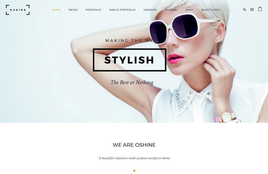 Oshine-Most-Popular-WordPress-Themes
