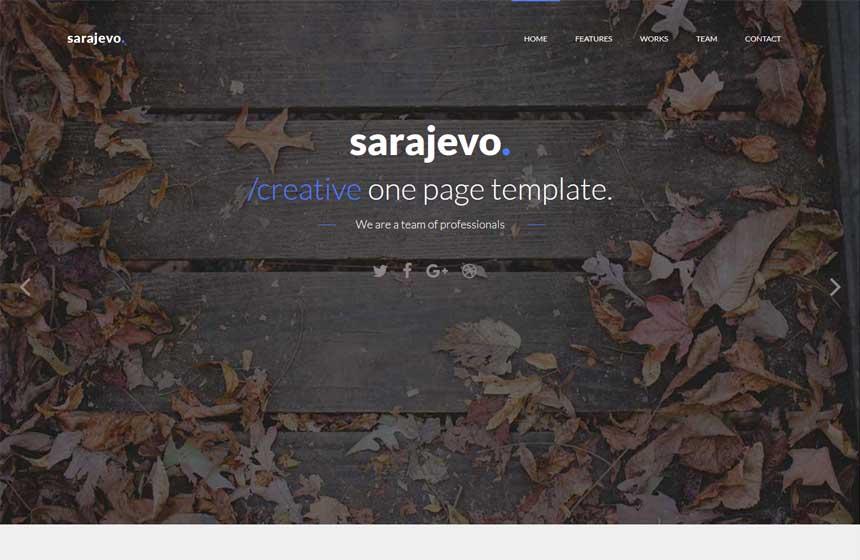 sarajevo-free html template